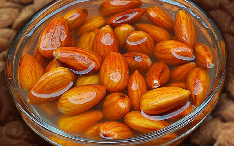 Eat soaked almonds daily